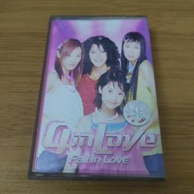 4in love—FaIi IN LOVE—专辑—正版磁带(只发快递)