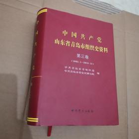 中国共产党山东省青岛市组织史资料第3卷(2002.1-2019.12)