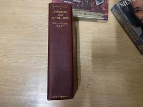 (又厚又重难拿货的一卷)The Story of Civilization 10: Rousseau and Revolution    杜兰特《世界文明史》卷十:卢梭与大革命,《哲学的故事》作者花费50年完成的巨著,布面精装,重约2公斤