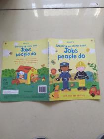 【外文原版】Jobs People Do (Dressing Up Sticker Book)