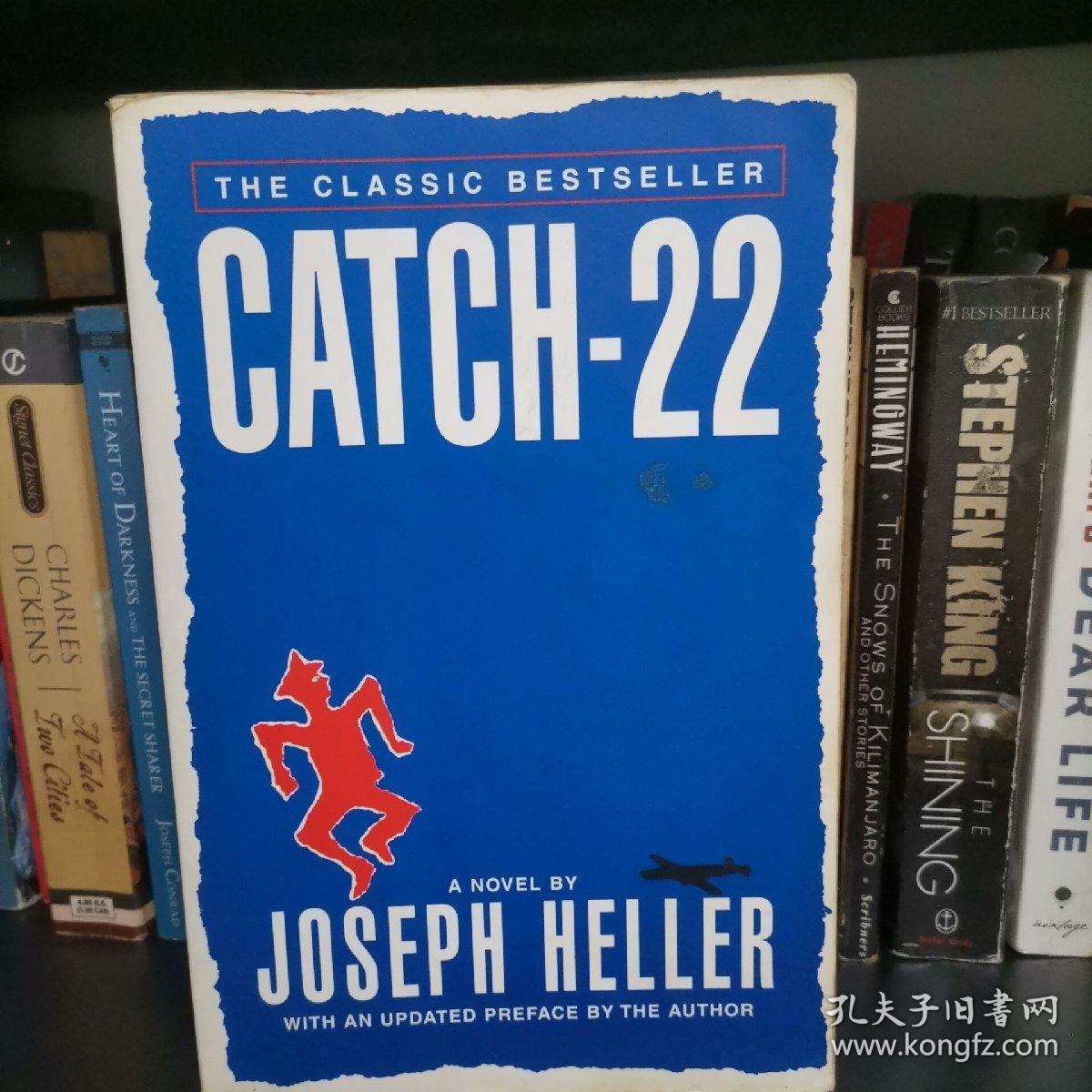 Catch-22 Joseph Heller 第二十二条军规 英文原版