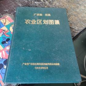广东省花县农业区划图集(16开精装)