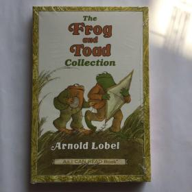 The Frog and Toad Collection Box Set (I Can Read, Level 2)青蛙和蟾蜍合集 英文原版儿童章节分级读物  3本盒装