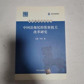 清华廉政系列丛书:中国县级纪检监察机关改革研究