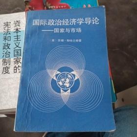 国际政治经济学导论:国家与市场【没有勾画】
