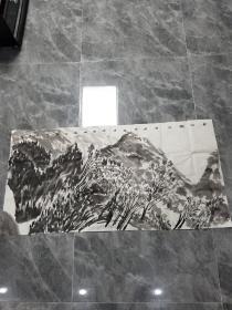 西安美术学院教授刘丹山水画