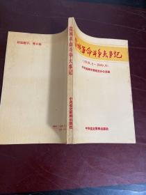 盐城革命斗争大事记(1919.5-1949.9)