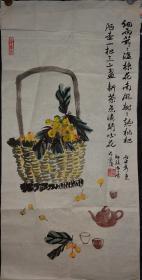 老画家,作品,画的很好,琵琶茶壶,张大千曾经画过