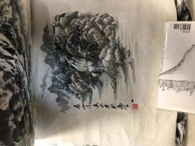 画家 佘德林  山水画一副18