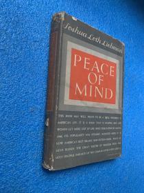 (1946年初版)peace of mind ( 布面精装)