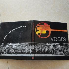 world petroleum council 1933-2008 years 世界石油理事会1933-2008年鉴