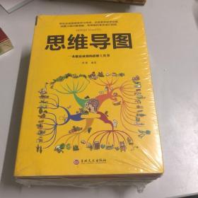 超级记忆术+思维导图+思维风暴+最强大脑+逆转思维 5册