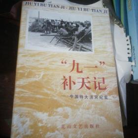 """""""九一""""补天记:中国特大洪灾纪实"""