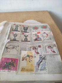 珍藏邮票    所有邮票如图  (有受潮)