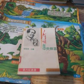毛泽东在中央苏区 一版一印 馆藏本