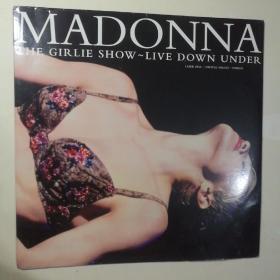 LD镭射影碟 Madonna: The Girlie Show - Live Down Under【 正版品新 实拍如图 】(进口原盘)