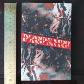 The short shortest history of Europe 欧洲极简史 英文原版 最新版