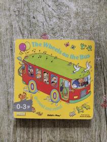 The Wheels on the Bus  Board Book 英文原版