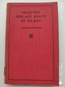 Selected One-act plays of to-day