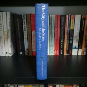 The City And The Stars—Arthur C.Clarke 《城市与群星》 阿瑟•克拉克 科幻 1956年版印刷布面精装