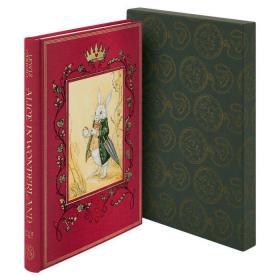 预售爱丽丝梦游仙境佛利欧豪华版Alice in Wonderland folio deluxe