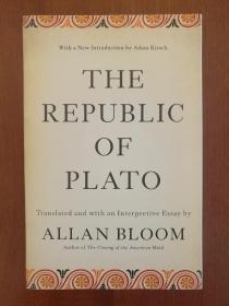 The Republic of Plato (全新进口原版,现货,实拍书影)