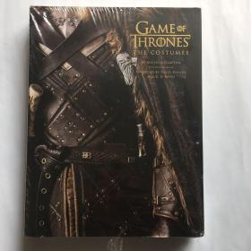 Game of Thrones: The Costumes, the Official Book from Season 1 to Season 8冰与火之歌权力的游戏服装服饰艺术画册设定集  精装库存书