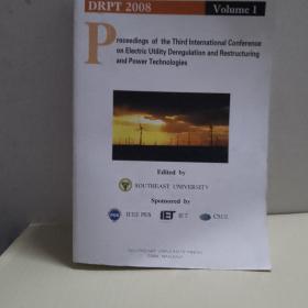 第三届电力解管制重构和电力技术国际会议论文集