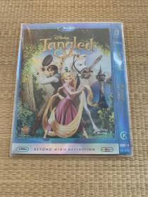 "DVD-9美版蓝光,迪士尼动画""魔法奇缘""又名""长发公主"""
