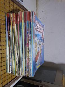 青少期刊适读7-14岁:探索地理2009年7-12期、2010年1-12缺第4期、2011年1-12期、2012年1-12期【共34册有41期  其中有几册是合刊】