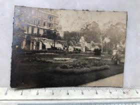 民国时期建筑风景老照片,不知是什么地方