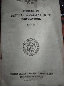 自然光照的研究 教室 第三部分 STUDIES IN  英文版