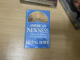 The American Newness:Culture and Politics in the Age of Emerson  歐文·豪《美國的新穎性》,王佐良:他有深度,又有文采。精裝