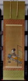 宫川长春,肉笔浮世绘,美人图