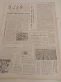 新华日报 1982年8月23日 (4开四版)沐阳县领导干部亲自调查第一手材料 ;镇江地区农林牧副渔开始协调发展 ;落实知识分子政策取得可喜进展