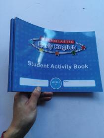学乐儿童英语   Scholastic Early English  Level 1 (C+D)  2册合售