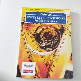 【外文原版】 Edexcel Entry Level Certificate In Maths Pupil Book