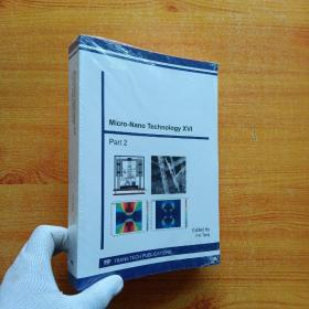 Micro-Nano Technology XVI Part 2【未拆封】