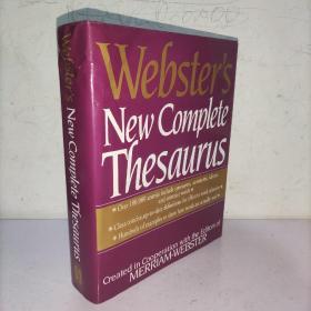 Webster's New Complete Thesaurus (韦伯斯特新的完整词库)英文原版 实物图