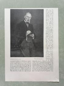 100年前 欧美 杂志 期刊 老版画 插图 散页 J