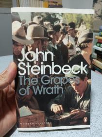 2000年,英文原版,企鹅版,愤怒的葡萄,斯坦贝克作品,the grapes of wrath