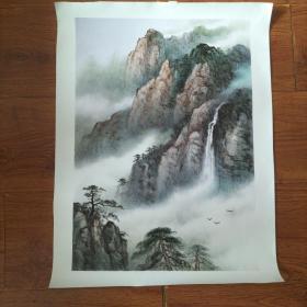 山水画(油画)