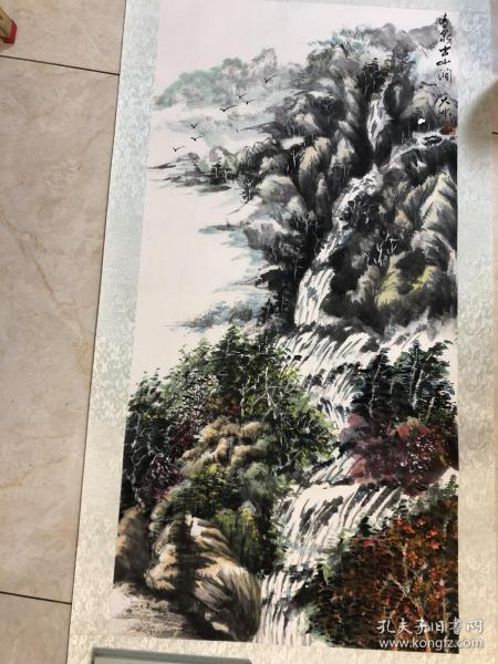 画家 佘德林  山水画一副23