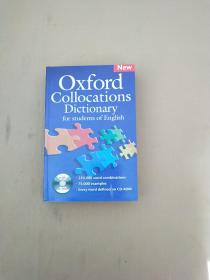 Oxford Collocations Dictionary New Edition Dictionary 牛津英语搭配词典 英文原版 无光盘