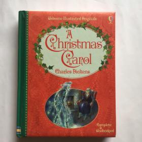 Charles Dickens  Carol 英文原版 Usborne 经典儿童文学系列:圣诞颂歌 狄更斯  精装