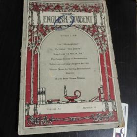 商务印书馆《英文杂志》第十二卷第十号(1926年10月出版)