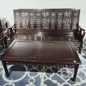 花梨木沙发两件套 色泽鲜艳,纹理清晰,耐用。有助于睡眠,促进血液循环