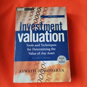 Investment Valuation:Tools and Techniques for Determining the Value of Any Asset, Second Edition, University Edition