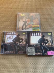 CD/黄蒙拉/帕格尼尼小提琴大赛冠军得主/帕格尼尼24首随想曲全新未拆封,(增签名版《非常小提琴》封一套,无CD)