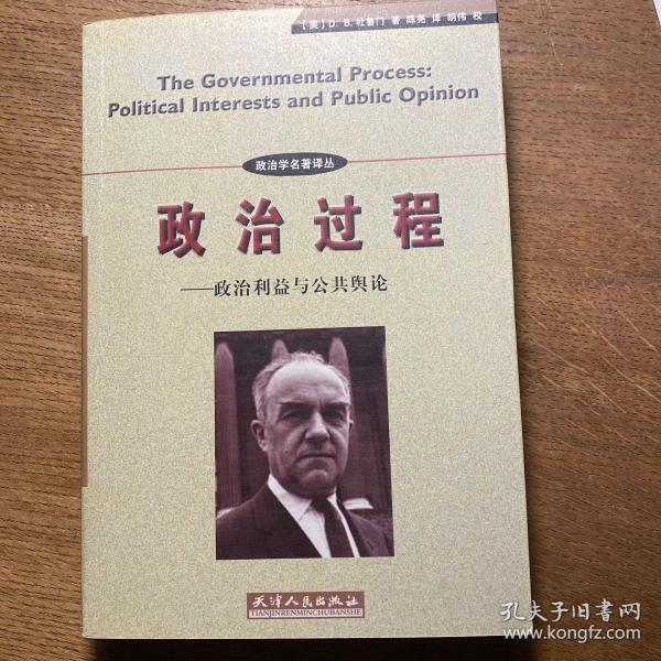 政治过程:政治利益与公共舆论